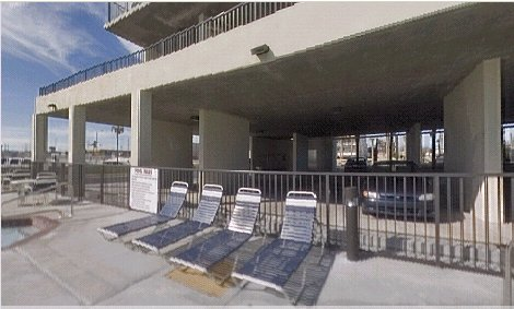 Outdoor pool at Phoenix All Suites Hotel on the gulf coast in Alabama --direct beachfront suites for lease