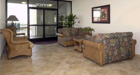 Lobby area of the Phoenix All Suites Hotel - Myrt and Angela Hales own Unite 903